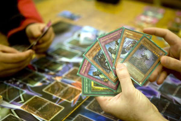 yugioh collectible card game